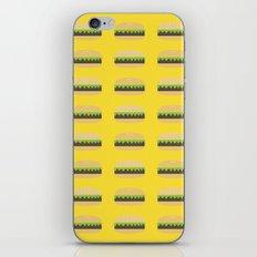 Burgers iPhone & iPod Skin