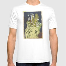 Dr. Jekyll & MrHyde SMALL White Mens Fitted Tee