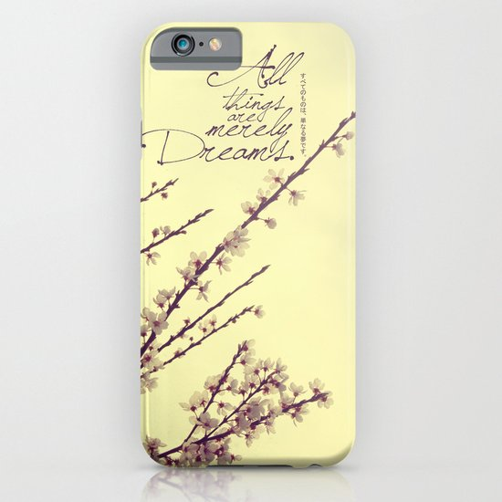 Merely Dreams iPhone & iPod Case