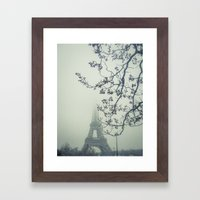 The Iron Lady & Mister Tree Framed Art Print