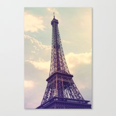 Paris Le Tour Eiffel  Canvas Print