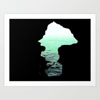 Out Of Cave Art Print