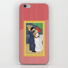 Dance in the country by Renoir iPhone & iPod Skin