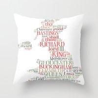 Shakespeare's Richard II… Throw Pillow