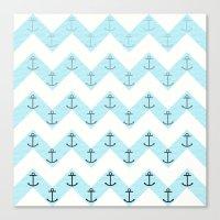 Anchors Canvas Print