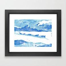 Iditarod Framed Art Print