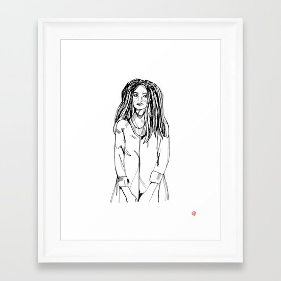 First Hello No.2 Framed Art Print