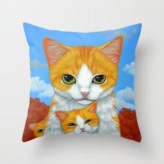 MOM'S FAVORITE Throw Pillow