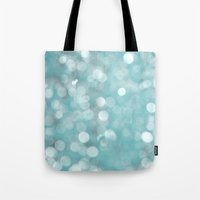 Aqua Bubbles Tote Bag