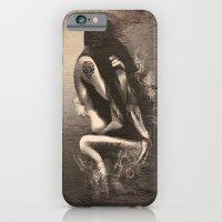 I Miss Us  (wood texture) iPhone 6 Slim Case