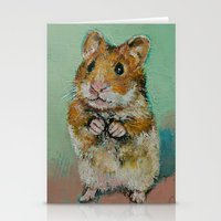 Hamster Stationery Cards