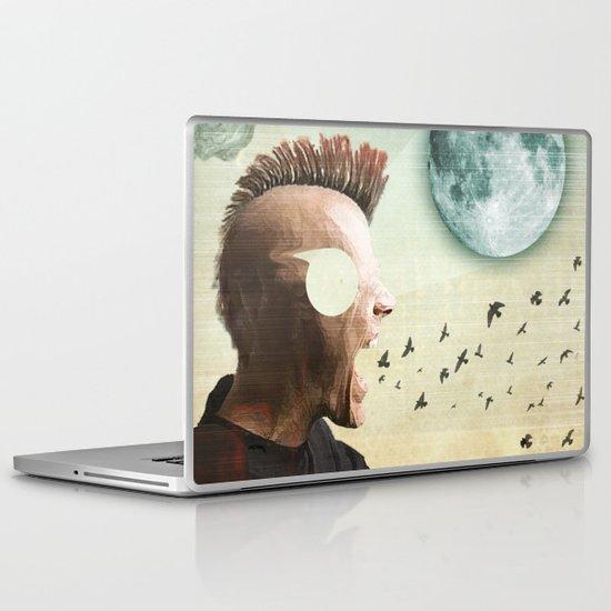 luna mohawk  Laptop & iPad Skin