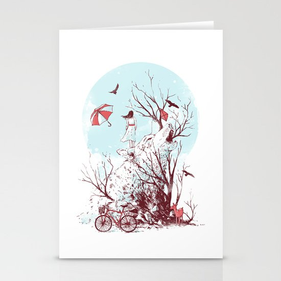 Call of the Wild Stationery Card