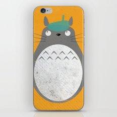Homenaje a Totoro iPhone & iPod Skin