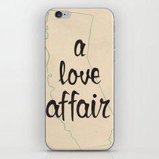 a love affair iPhone & iPod Skin