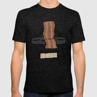 So This Is Destiny - Bac… Mens Fitted Tee Tri-Black SMALL