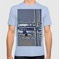 Under lock and key Mens Fitted Tee Athletic Blue SMALL