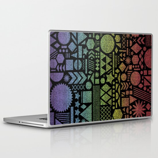 Modern Elements with Spectrum. Laptop & iPad Skin