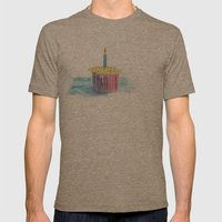 Happy Day Mens Fitted Tee Tri-Coffee SMALL