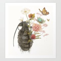 Containability To Sustai… Art Print