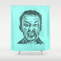 Thom Yorke Shower Curtain