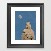 Loving Mother Framed Art Print