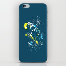 space suit iPhone & iPod Skin