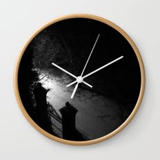 A Dark Winter Night Wall Clock