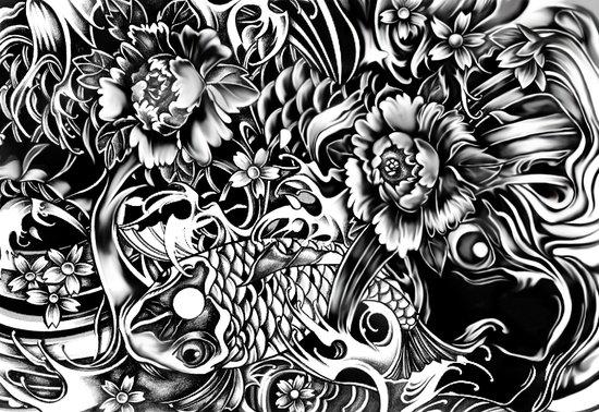 An underwater dream japanese koi art art print by kristy for Japanese koi art prints