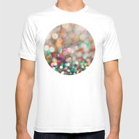 Partay  Mens Fitted Tee White SMALL