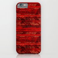 Leaf Strata (Ruby) iPhone 6 Slim Case