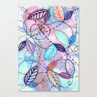 trajectories Canvas Print