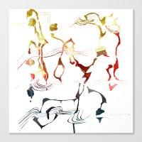 Jazzy Melody Canvas Print