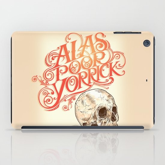 Hamlet Skull iPad Case