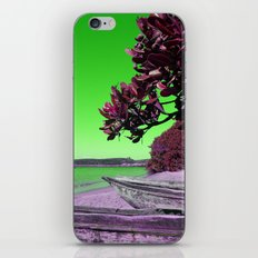 Manafiafy in Green iPhone & iPod Skin