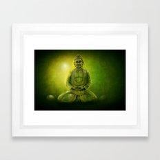Happy Buddha 1 Framed Art Print