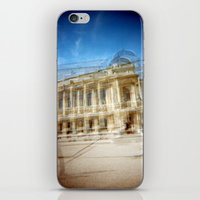 Jardin des Plantes Multiple Exposure iPhone & iPod Skin