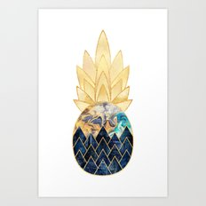 Precious Pineapple 1 Art Print