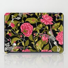 Death of Summer (black and rose) iPad Case