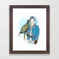 Wisdom 2 Framed Art Print
