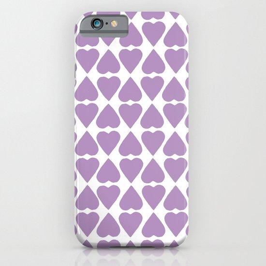 Diamond Hearts Repeat O iPhone & iPod Case