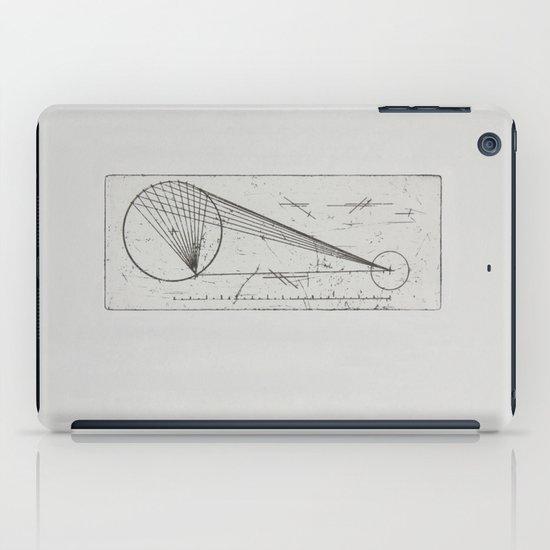 Etched print no. 1 iPad Case