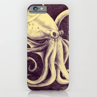 iPhone & iPod Case featuring Octopus by Anna Tromop Illustration