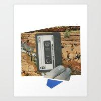 Summer Mix Art Print