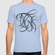 Think Mens Fitted Tee Athletic Blue SMALL