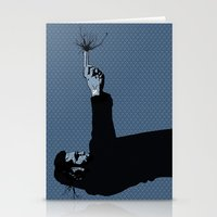Kittappa Series - Blue Stationery Cards