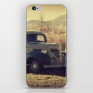 iPhone & iPod Skin featuring Fall Vintage Truck With … by LJehle Photography