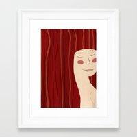 That Autumn Feeling Framed Art Print