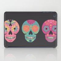 Three Amigas Sugar Skulls iPad Case