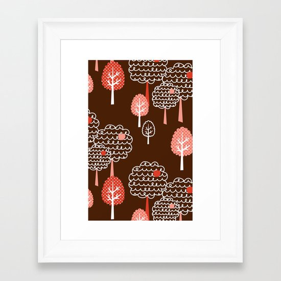 Forest Wonderland Framed Art Print